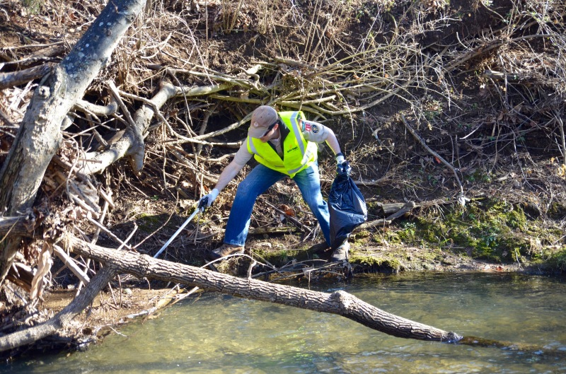 Annual Little Harpeth River clean-up is a success; tree planting is next