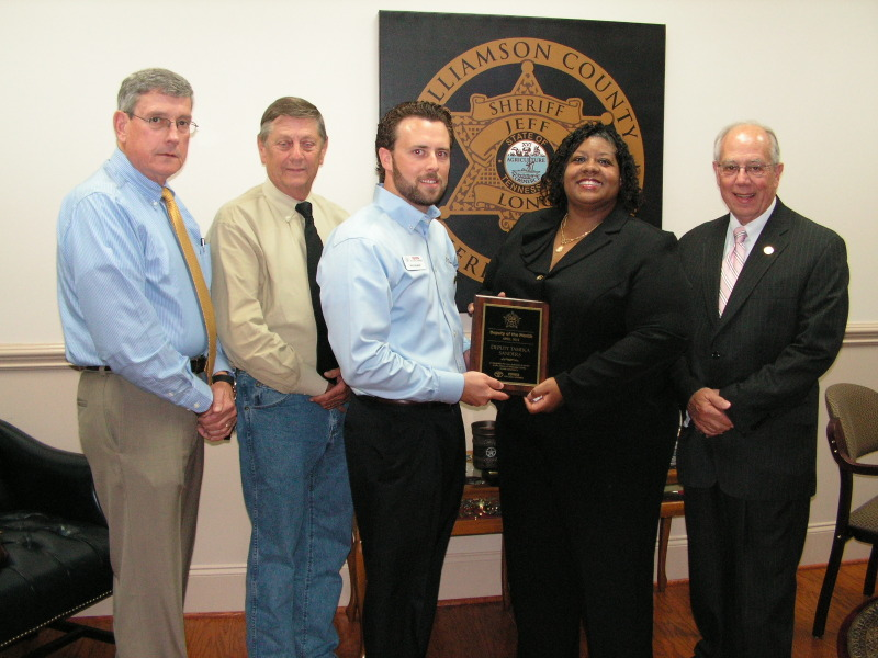 WCSO Detective named April Deputy of the Month