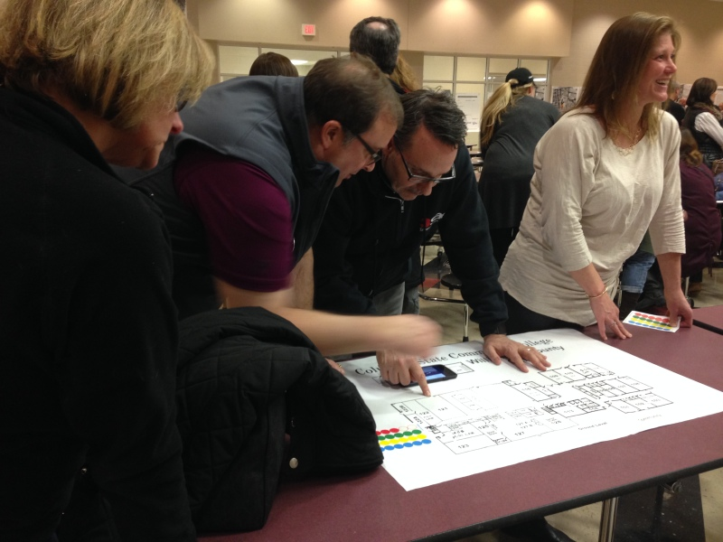Community helps build plans for Franklin High renovations