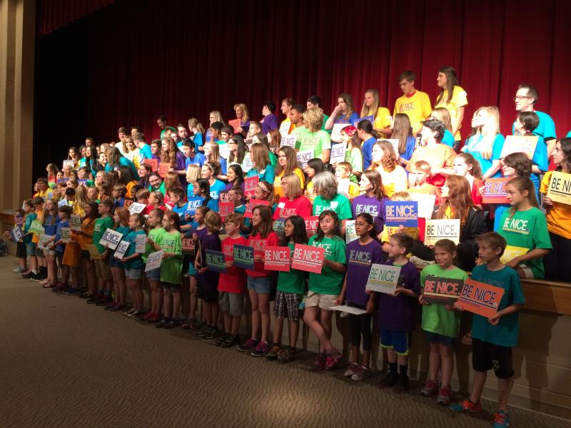 WCS students striving to 'Be Nice'