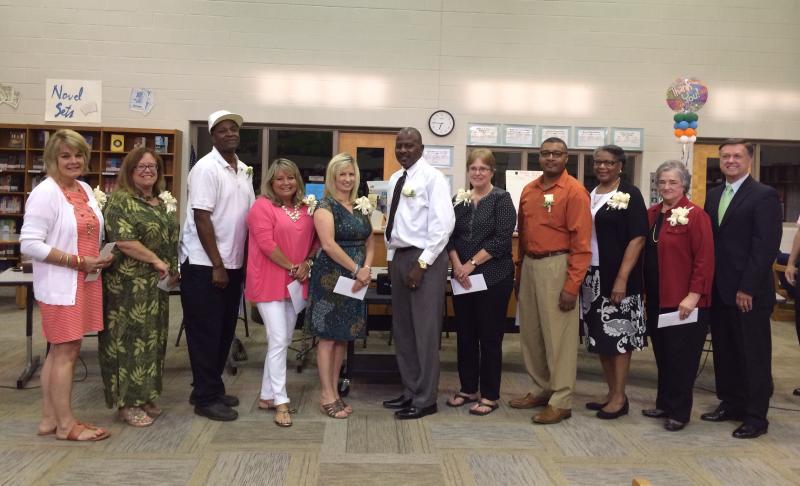 Franklin Elementary custodian named top FSSD support employee