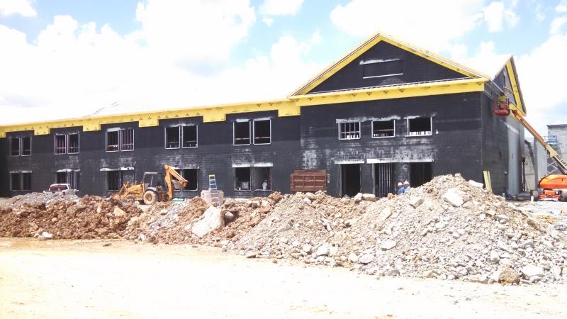 New Nolensville schools nearly halfway complete