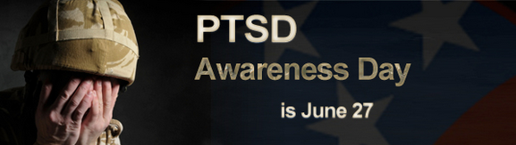 Saturday is National PTSD Awareness Day | Tennessee Department of Mental Health and Substance Abuse Services, June, PTSD, treatment, awareness