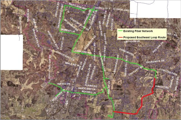 City's fiber optic network, traffic communication could be improved