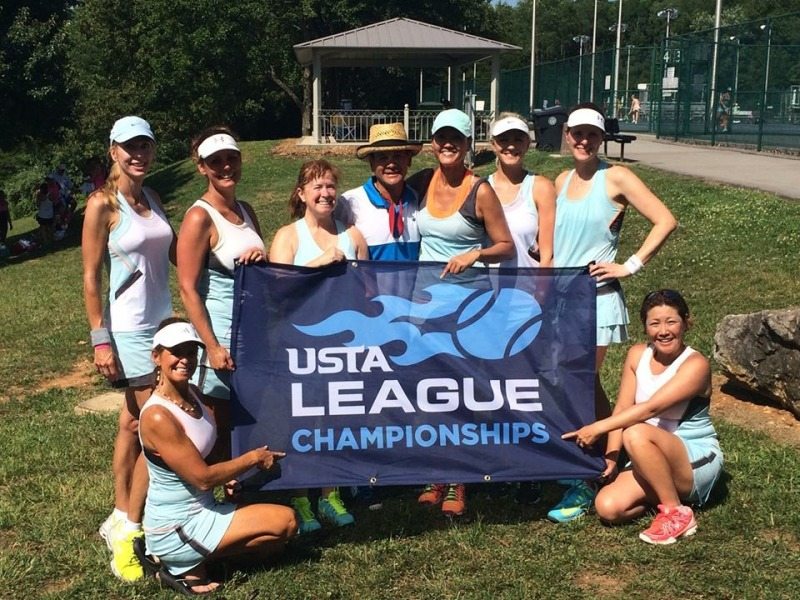 Local women's tennis team wins state title