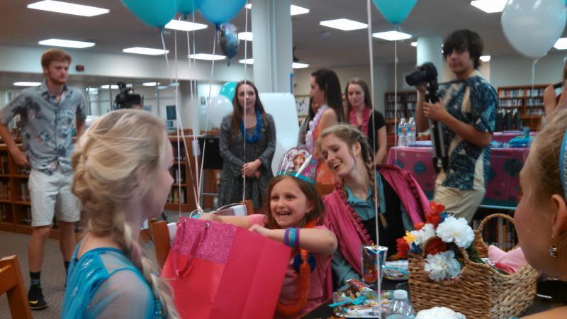RHS and Make-A-Wish send girl to Disney World