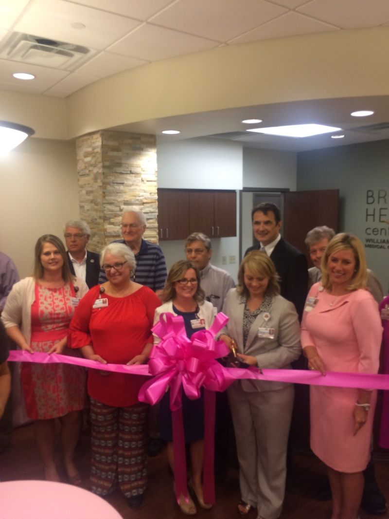 New women's breast health center introduced at ribbon cutting