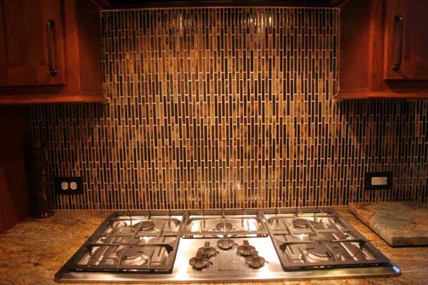 granite backsplash vs tile tile backsplash for kitchen decor - Vertical Tile Backsplash