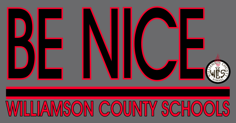 Williamson students, staff launching BE NICE 3.0 on Monday