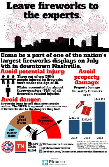 Officials urge residents to 'let the pros handle fireworks'