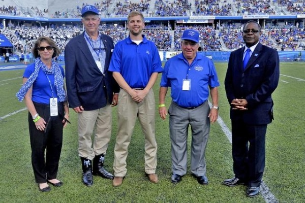 Mtsu Recognizes Brentwood S Smith For Philanthopy Steven
