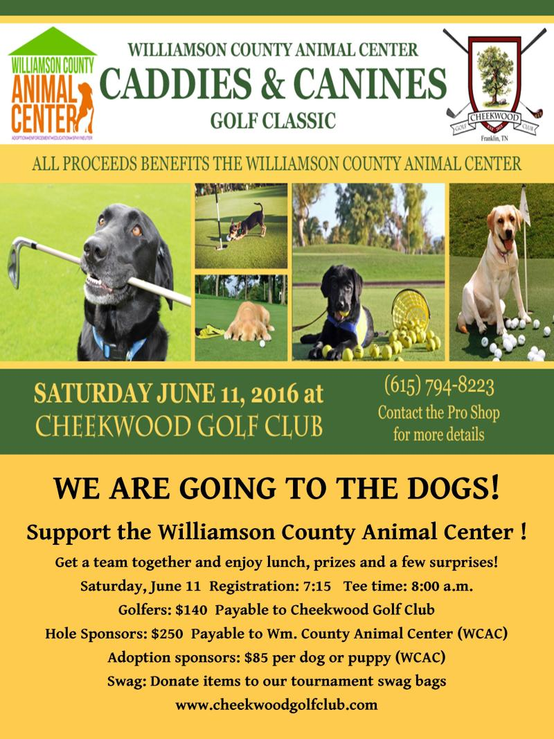 Animal center organizes first-ever golf benefit