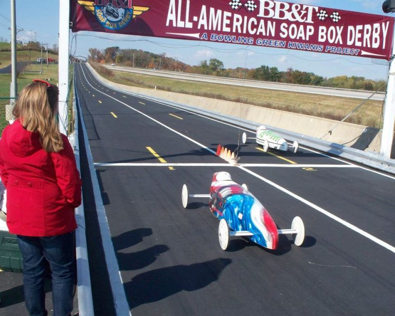 Local fifth-grader places first in Kentucky Soap Box Derby race